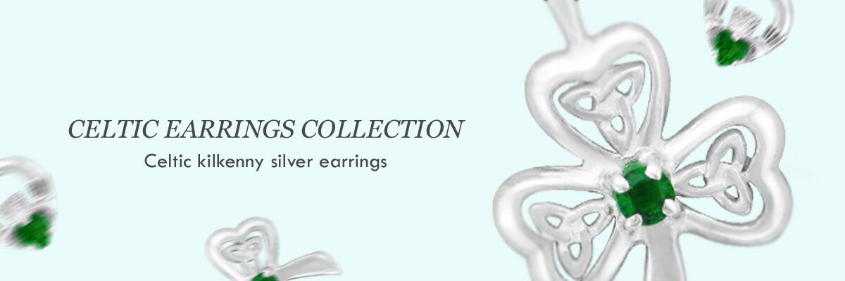 wholesale jewellery celtic silver earrings
