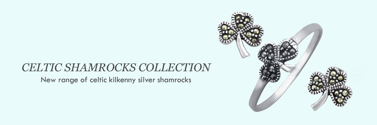 wholesale jewellery celtic silver shamrocks