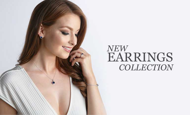 wholesale jewellery new sterling silver earring collection