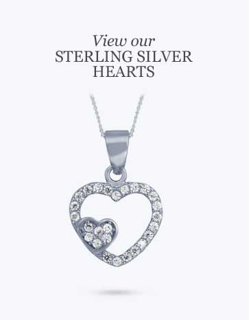 wholesale jewellery sterling silver hearts