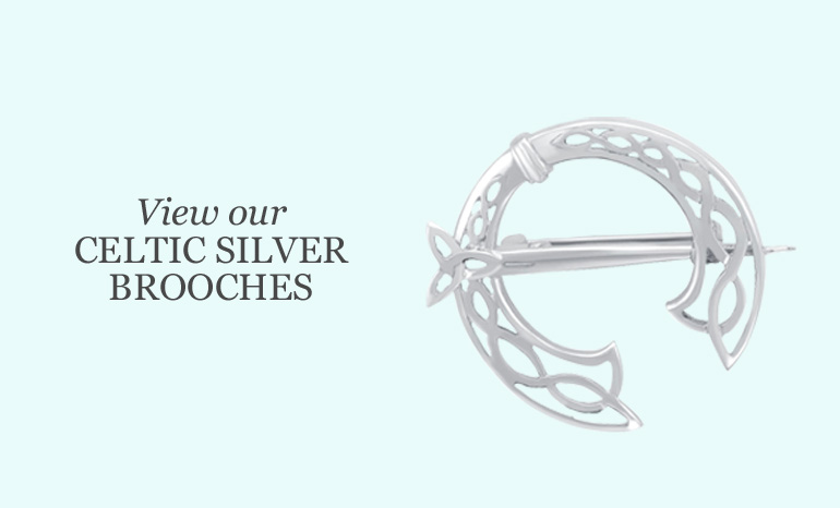 wholesale jewellery celtic silver brooches